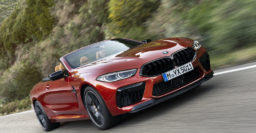 2020 BMW M8 and M8 Competition have twin turbo 4.4L V8