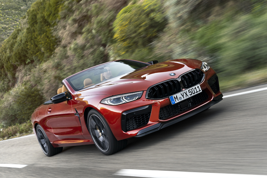 BMW M8 Competition convertible (2020, F91, second ...