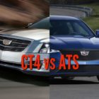 2020 Cadillac CT4 vs 2013-2019 ATS: Differences & changes compared