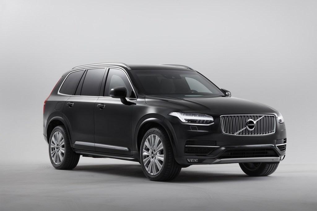 2017 Volvo Xc90 Hybrid >> Volvo XC90 Armored (2020, second generation) photos