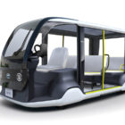Toyota Accessible People Mover for 2020 Tokyo Olympics (photos)