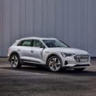 Audi E-Tron 50 (2020, first generation, UK) photos