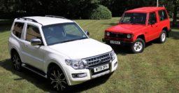 Mitsubishi Shogun: Final UK model joins the company's heritage fleet
