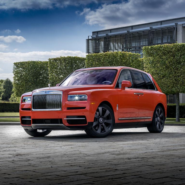 Rolls-Royce Cullinan in Fux Orange (2019, first generation ...