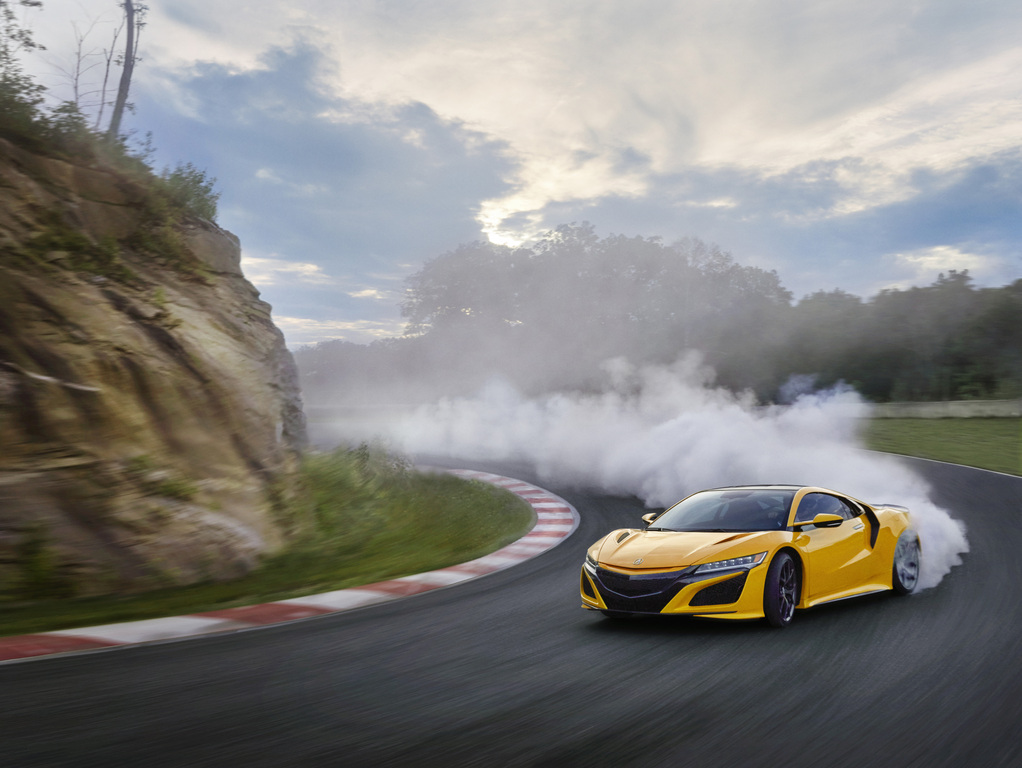 Acura NSX in Indy Yellow Pearl (2020, NC1, second ...