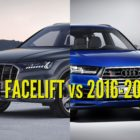 2020 Audi Q7 vs 2016-2019: Facelift differences & changes compared