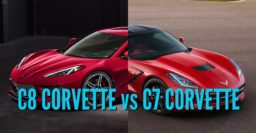 2020 Corvette vs 2014-2019: C8 vs C7 differences compared side by side