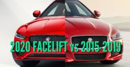 2020 Jaguar XE facelift vs 2015-2019: Differences compared side by side