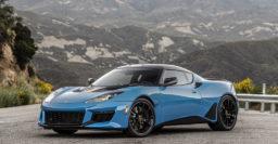 2020 Lotus Evora GT streamlines range in America