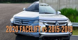 2020 Mitsubishi Pajero Sport facelift vs 2015-2018: Differences
