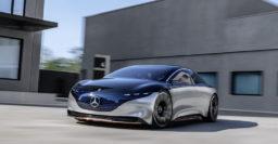 Mercedes-Benz Vision EQS previews flagship electric sedan