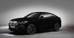 BMW X6 Vantablack: Super black paint absorbs 99.965% of all light