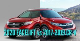 2020 Honda CR-V vs 2017-2019: Facelift differences & changes compared