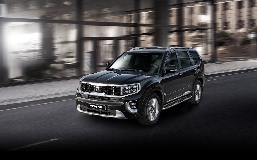 Kia Mohave 2020 Major Facelift Hm First Generation Korea