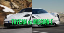 2020 Porsche Taycan vs Mission E: Changes & differences compared