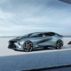 Lexus LF-30 Electrified: Gullwing concept signal intent, not production