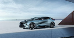 Lexus LF-30 Electrified: Gullwing concept signal intent, not production