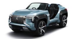 Mitsubishi Mi-Tech Concept: Open air SUV has gas turbine engine