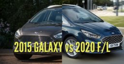 2020 Ford Galaxy vs 2015-2019: Facelift differences & changes