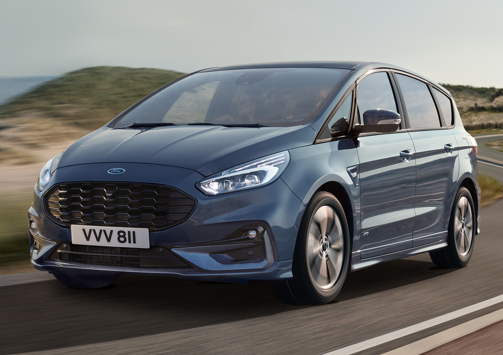 2020 Ford S Max Minivan Soldiers On With Facelift New Ergonomic Seats