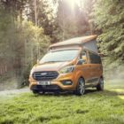 2020 Ford Transit Custom Nugget: 3 rooms, Wi-Fi for luxury campervan