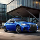 Lexus IS F-Sport Blackline (2020, XE30, third generation, USA) photos