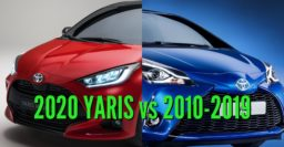 2020 Toyota Yaris vs 2011-2019: 3rd & 4th generation differences