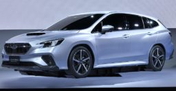 2020 Subaru Levorg previewed by prototype, looks sexier than before