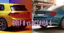 2020 Volkswagen Golf vs Skoda Octavia: Sibling differences compared