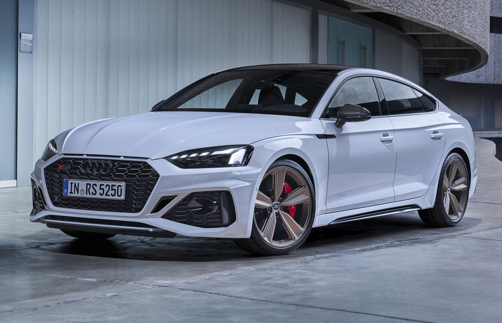 Audi RS5 Sportback (2021 facelift, Type 8W6, second ...