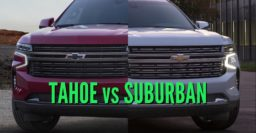 2021 Chevrolet Suburban vs Tahoe: Differences & changes compared