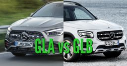 2021 Mercedes-Benz GLA vs GLB: Differences compared side by side