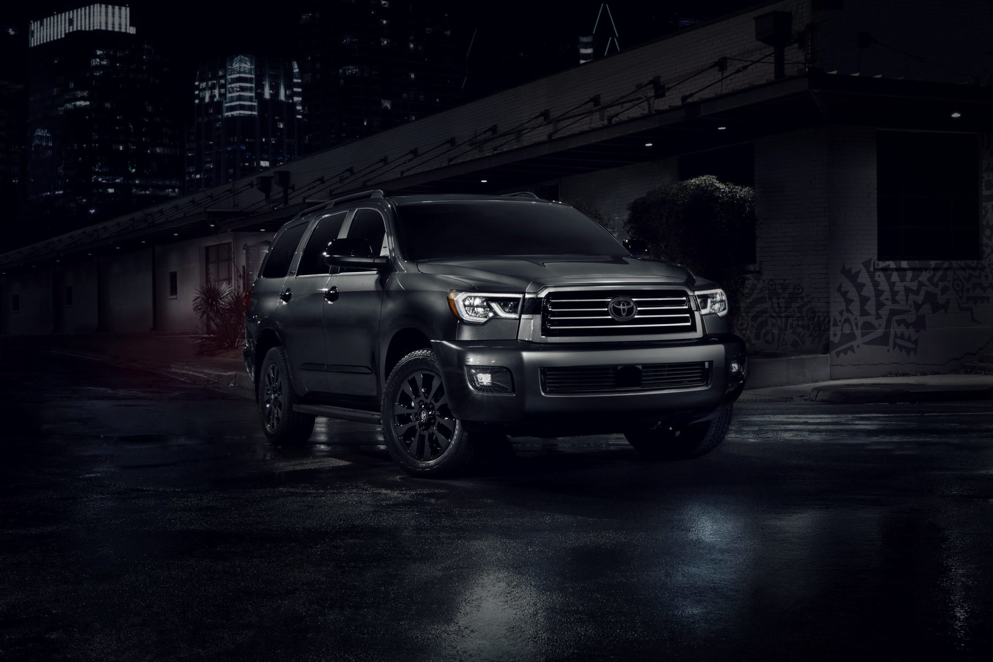 toyota sequoia nightshade 2021 xk60 second generation