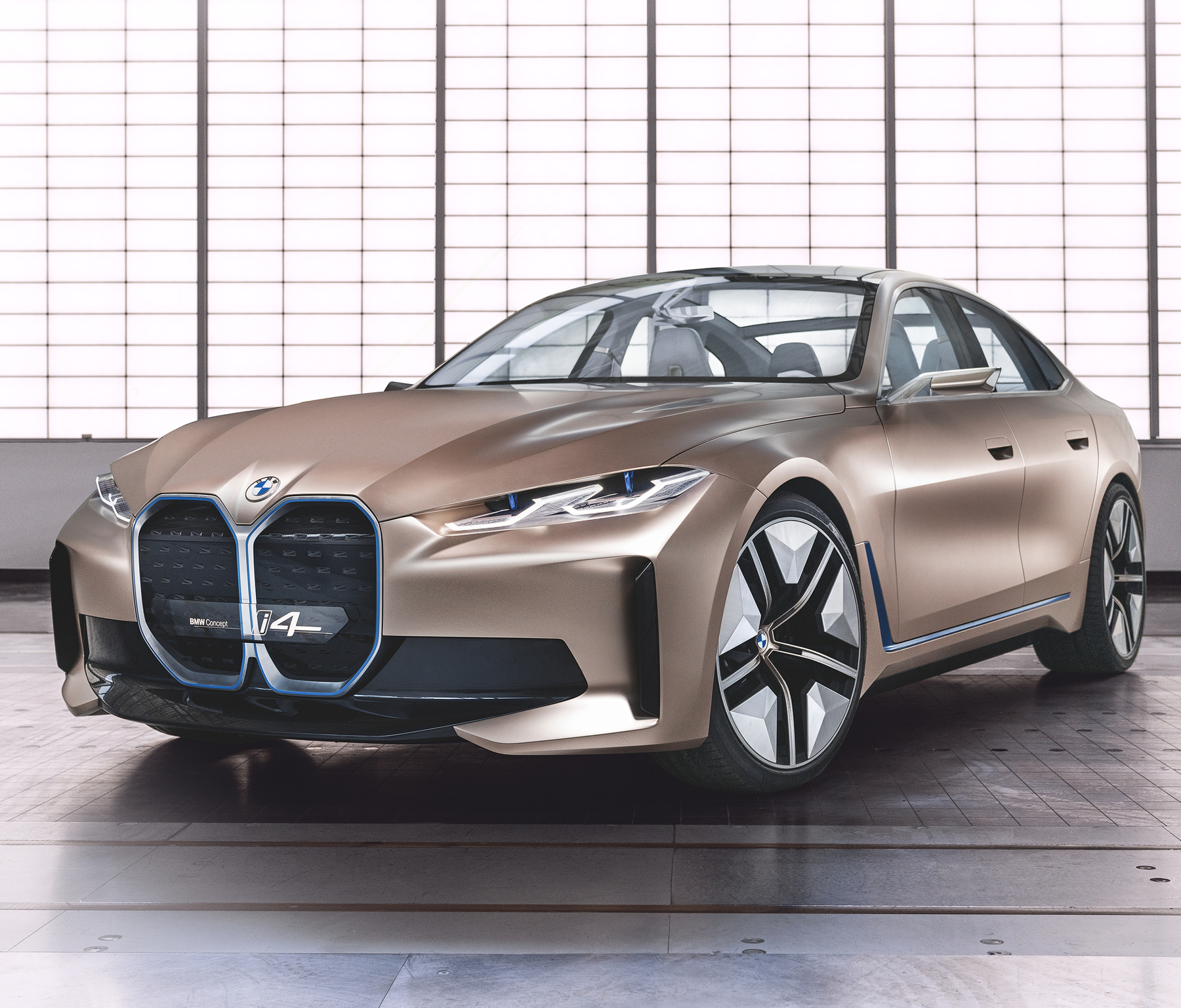 Bmw 4: 2021 BMW I4: Electric 4-Series Previewed With Huge, Ugly