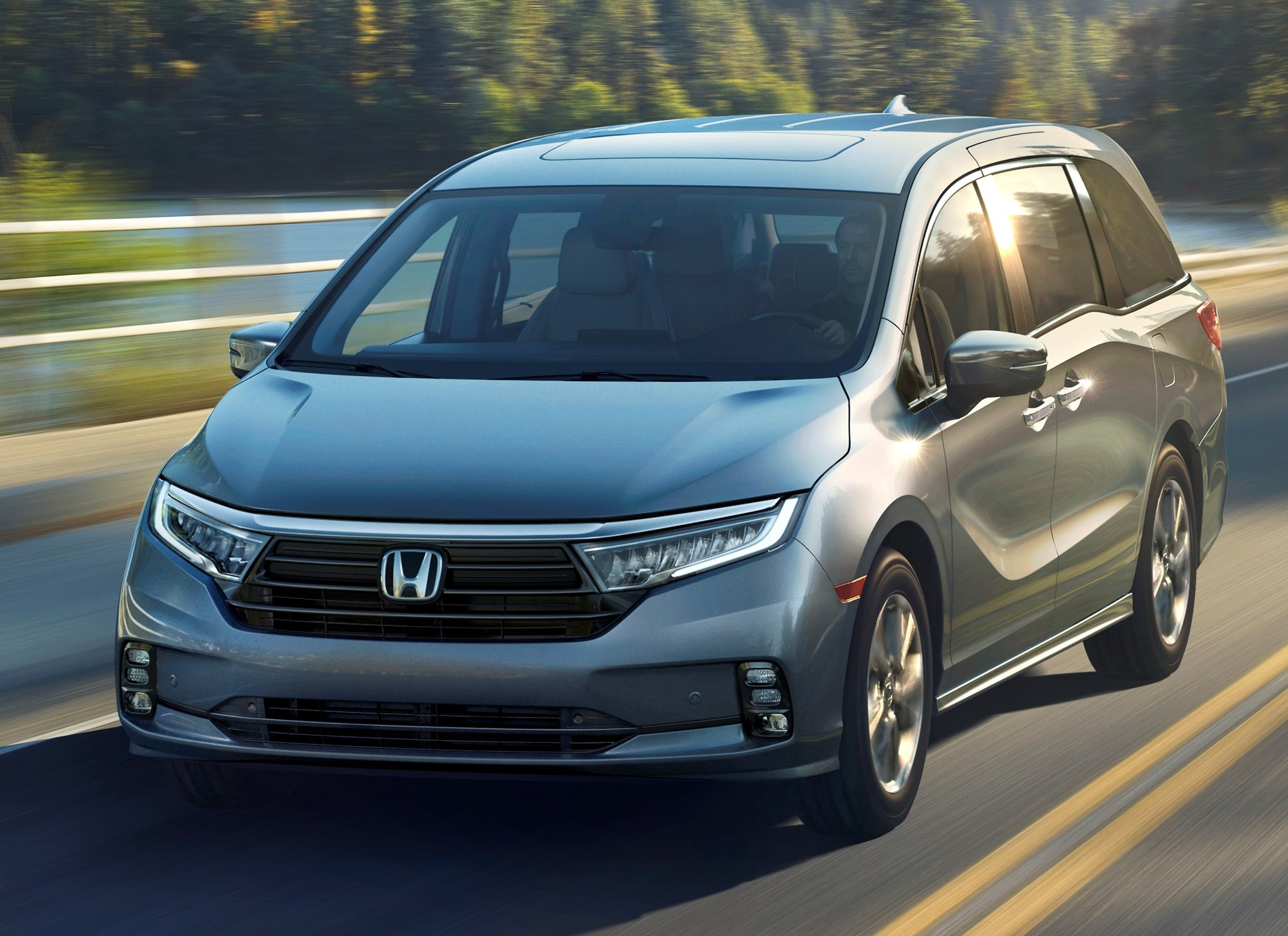2021 Honda Odyssey facelift: Less ugly, more safety