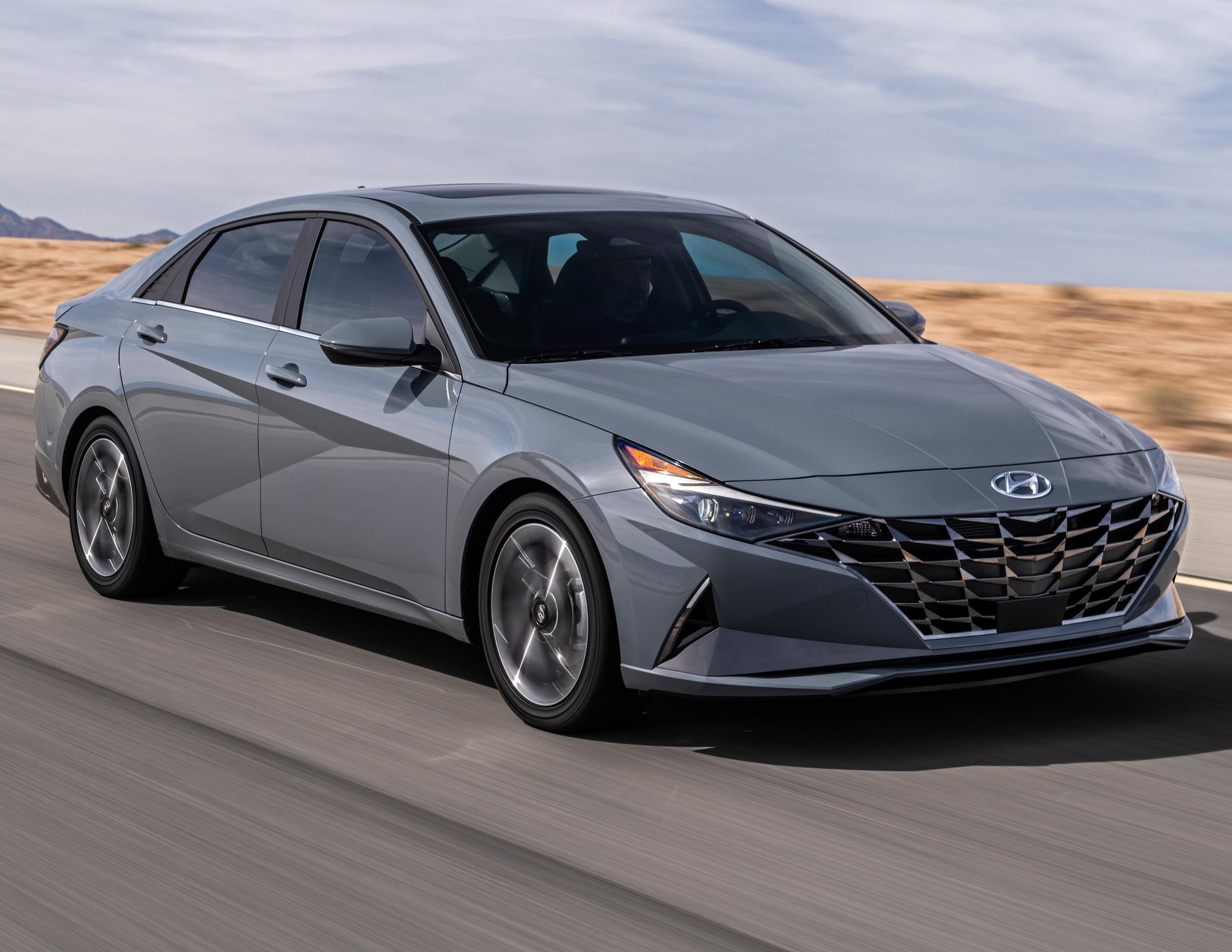 Hyundai Elantra Hybrid 2021 Seventh Generation Photos
