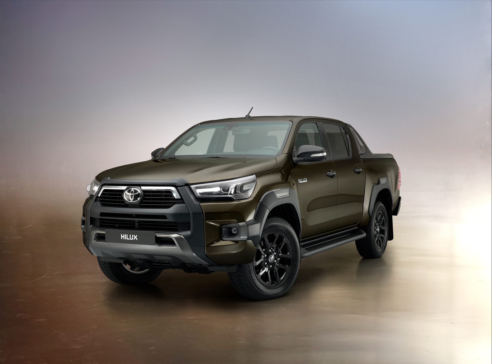 Toyota Hilux Invincible facelift (2020, AN120, eighth ...