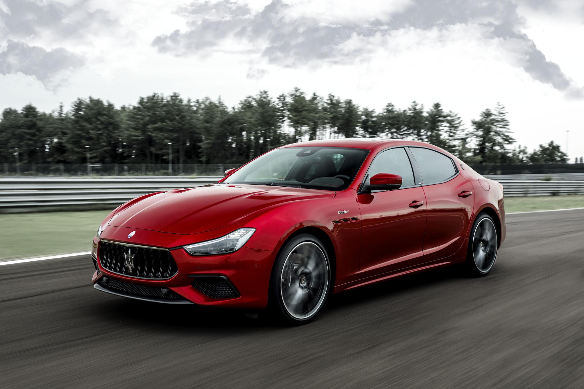 Maserati Ghibli Trofeo (2021, M157) photos