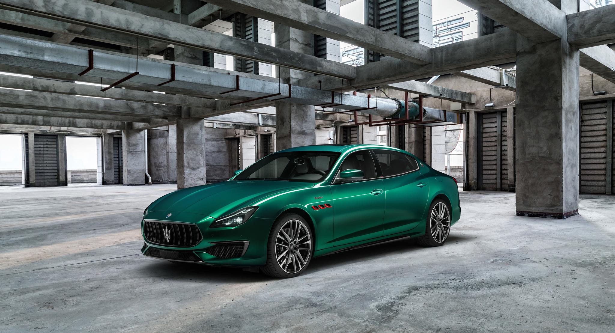 Maserati Quattroporte Trofeo (2021, M156) photos