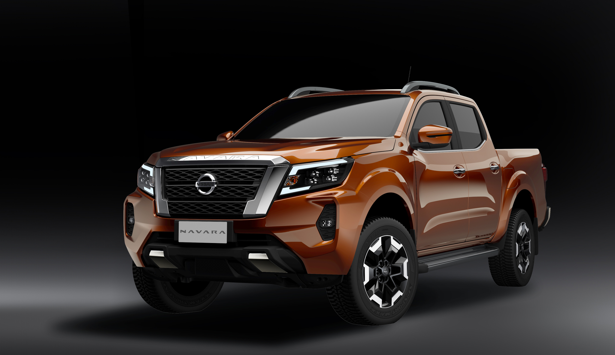 2021 nissan navara and frontier facelift have titan design