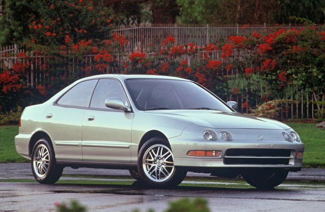 Acura Integra sedan (1994-2001, third generation, DB6-DB9) photos ...