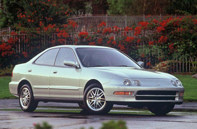 Acura Integra sedan (1994-2001, third generation, DB6-DB9) photos ...