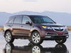 2013 Acura MDX - front, purple