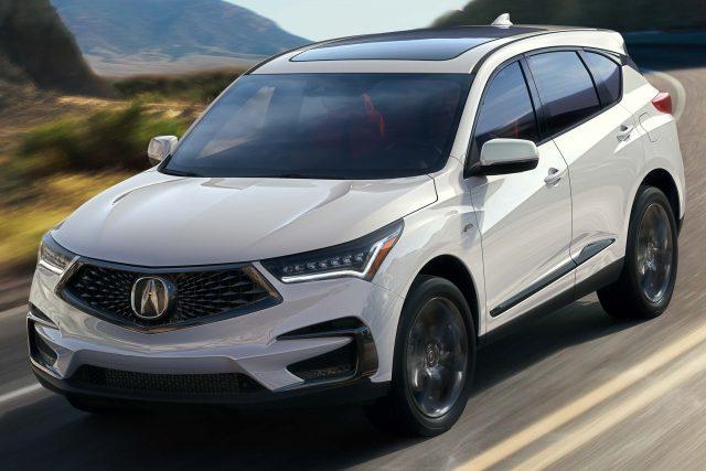 2019 Acura RDX A-Spec - front, white