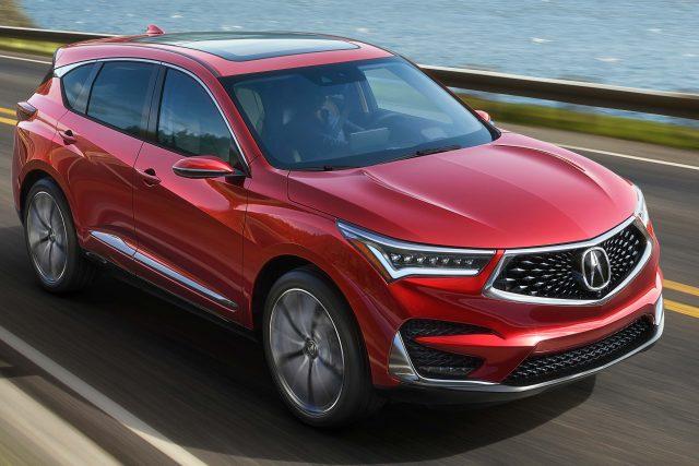 2019 Acura RDX Prototype - front, red