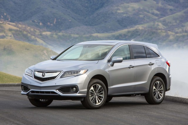 2016 Acura RDX facelift - front