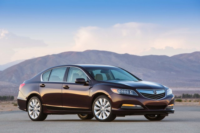 2016 Acura RLX Sport Hybrid - front