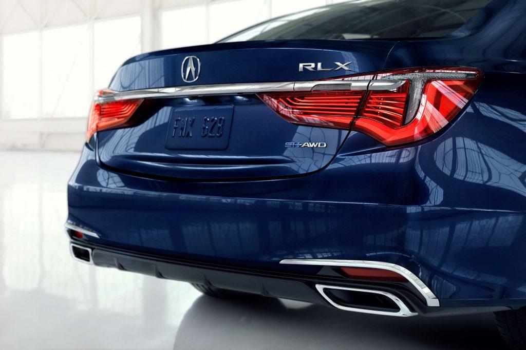 2018 Acura RLX SH-AWD facelift - taillamps