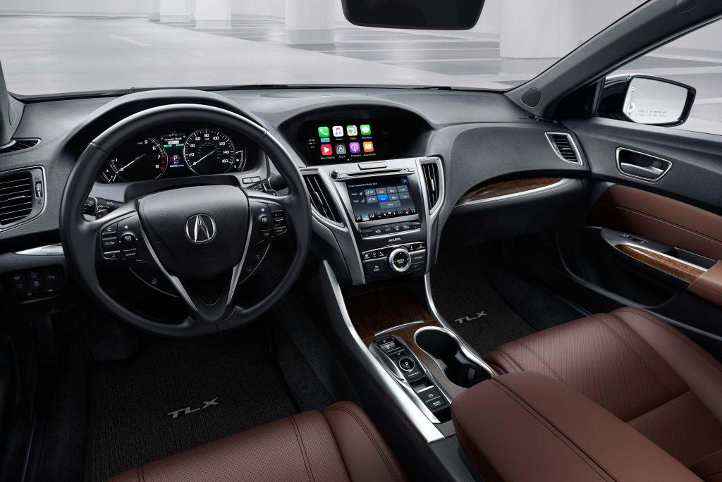 2018 Acura TLX - interior, dashboard
