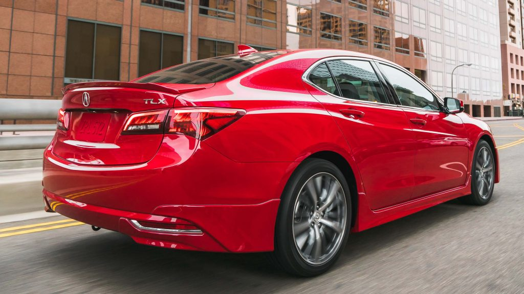 2017 Acura TLX with GT Package - rear
